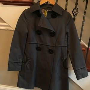 Skis & Kyo trench coat